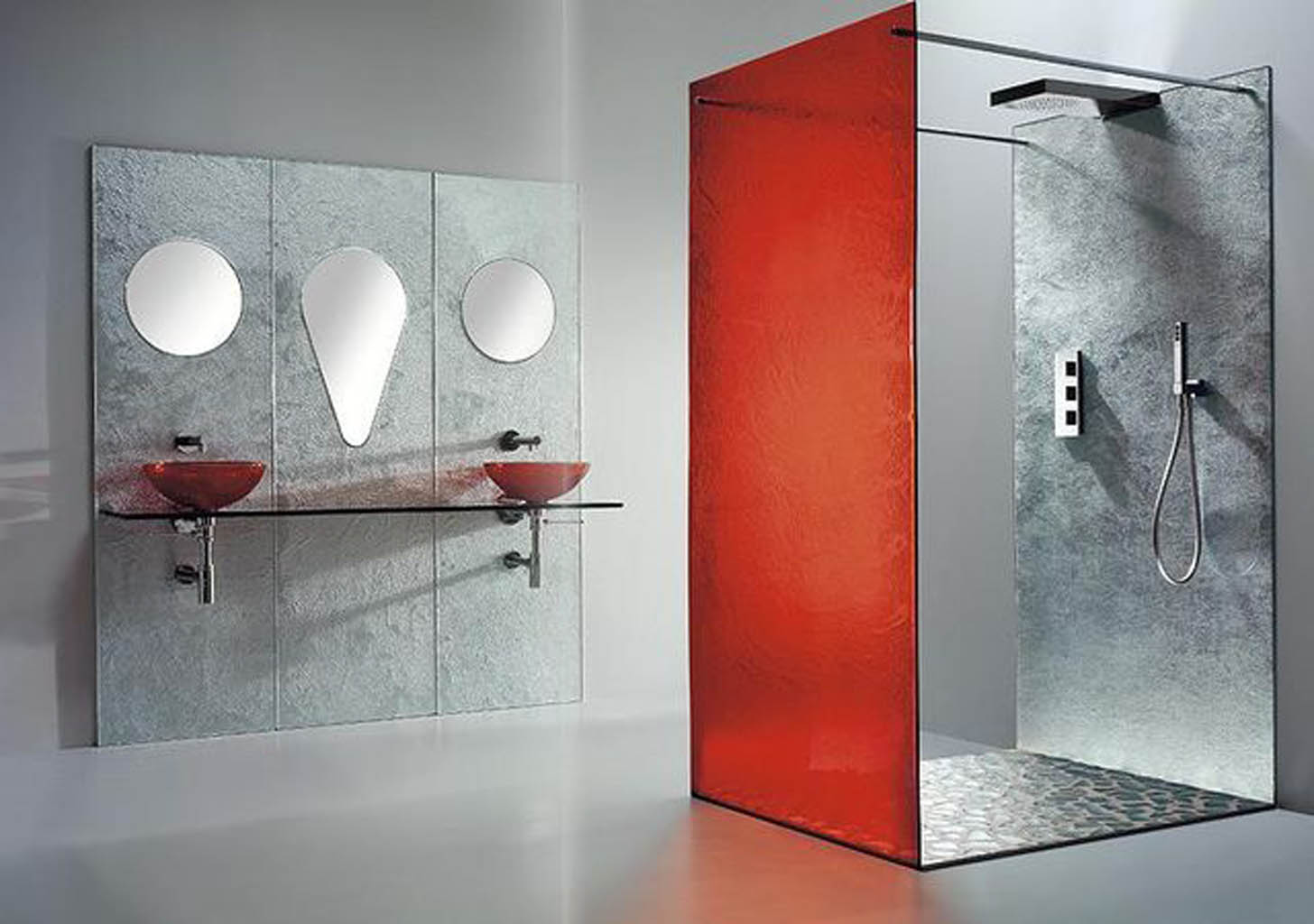 Glass Tiles Lepa Kuca - Colored-and-clear-glass-tiles-by-vetrocolor